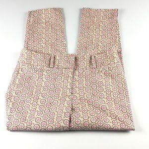 Ann Taylor Loft Julie Skinny Cropped Pants Sz 6.
